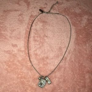 Aeropostale 3 Charm Necklace